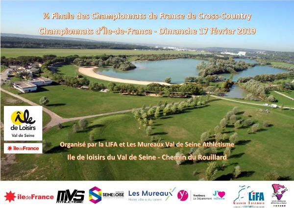 championnats ile_de_france_de_cross_2019 Les mureaux