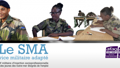 Photo of Le service militaire adapté (SMA)