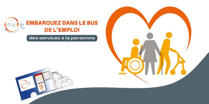 Bus emploi des services à la personnes Les Mureaux