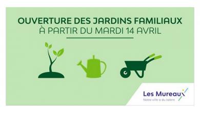 Photo of Ouverture des jardins familiaux aux Mureaux