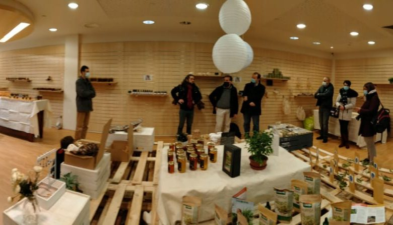 inauguration boutique éphémère PTCE Vivre Les Mureaux
