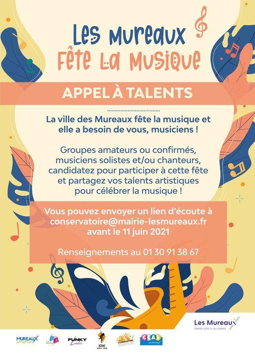 Appel à talents pour la fete de la musique